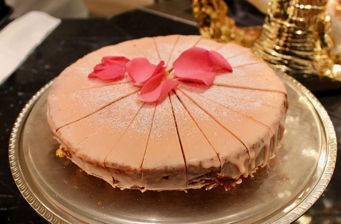 マリーが実際に食したケーキを忠実に再現!