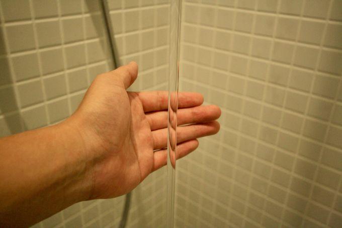 今回初導入のシャワー「ウォームピラー」とは?