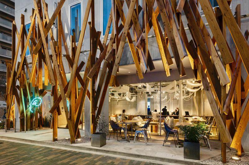 ホテルそのものが美術作品!隈研吾氏デザイン「ONE@Tokyo」
