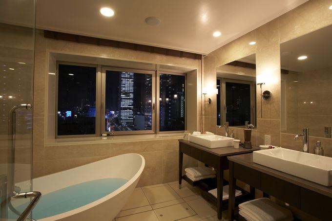 1室限定の贅沢な客室「プレミアムスイート」