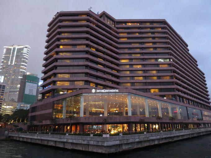 九龍半島の先端に建つホテルは風水を元に設計されている縁起のいいホテル