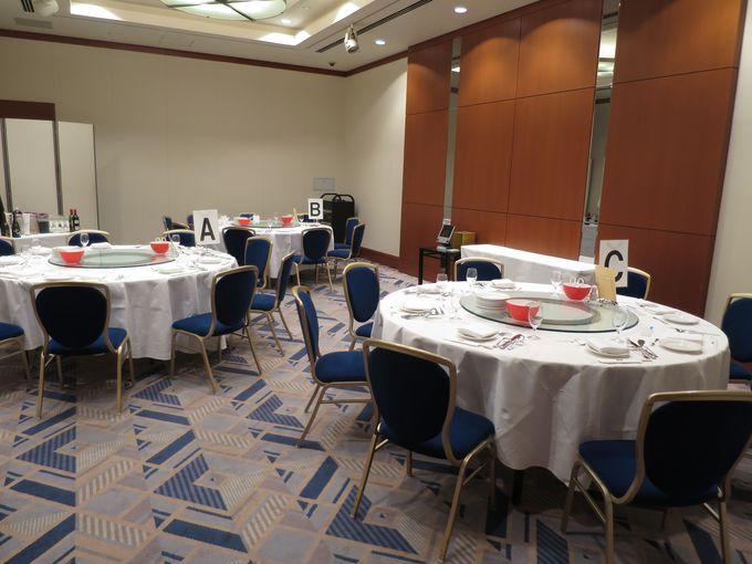 宴会場もあるので、夕食をみんなで一緒すれば大いに盛り上がります。