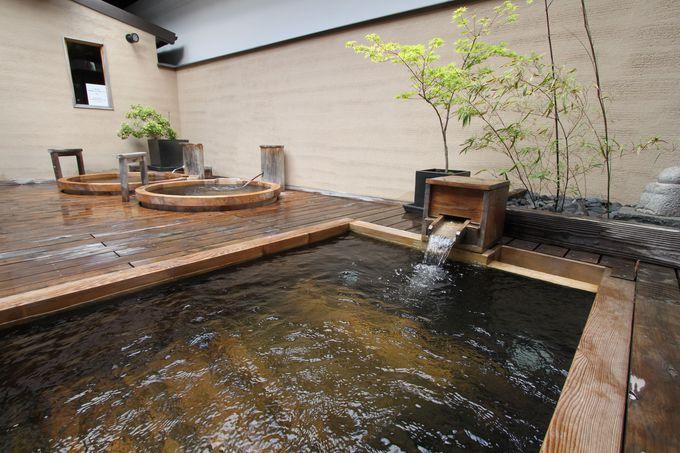 高野山で唯一の天然温泉と露天風呂で至福のとき