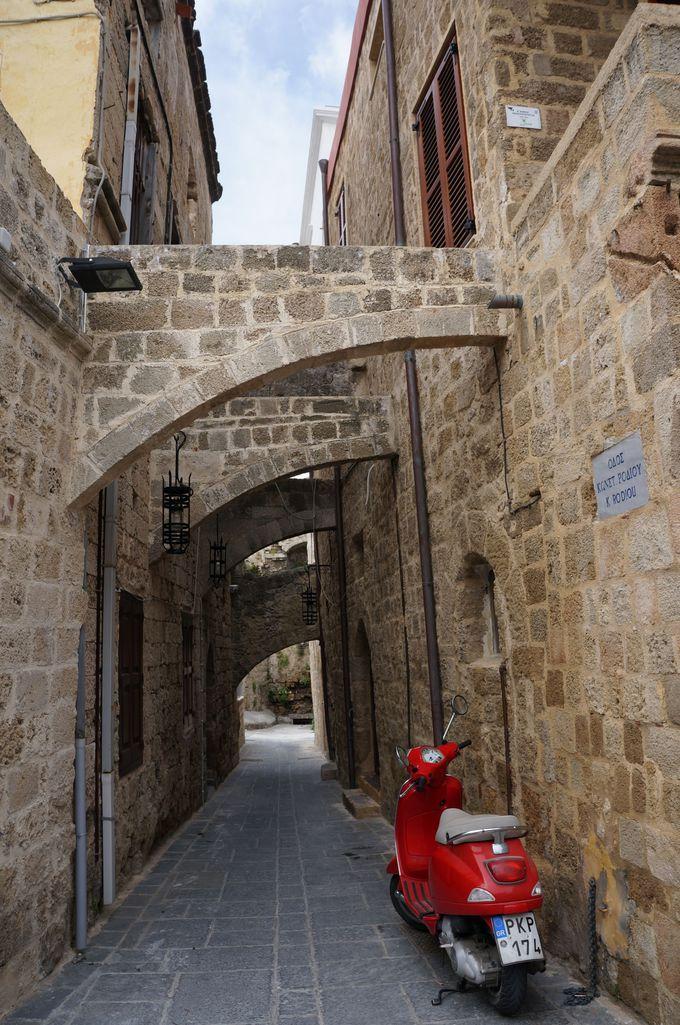 ロードス旧市街の巡り方
