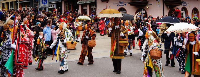 最古の異教の春風・ロットヴァイルのカーニバル