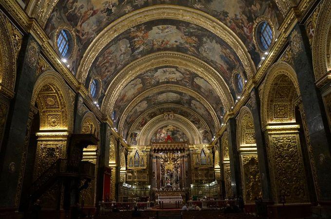 目が潰れる程の金金金!富を思い知るなら「聖ヨハネ大聖堂へ」