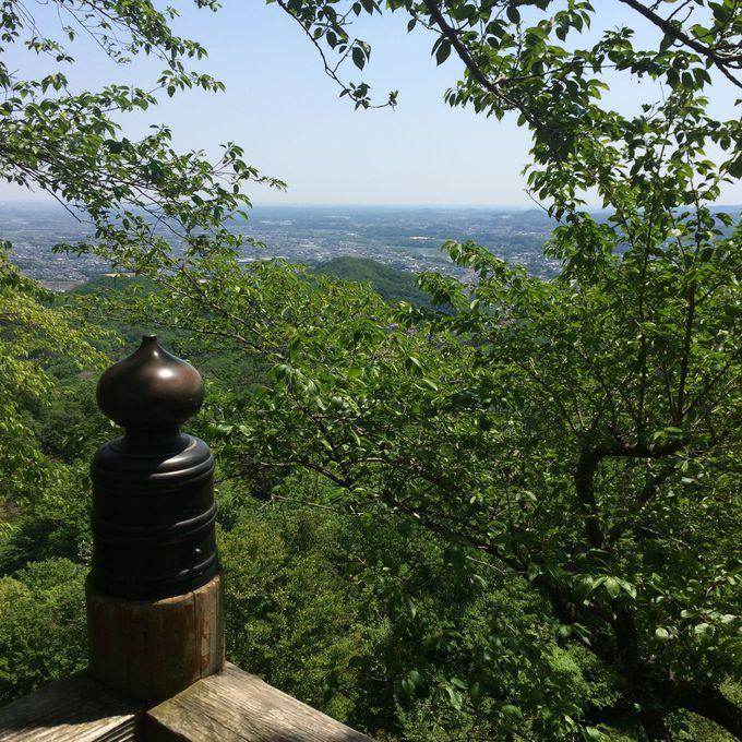 標高330mの鐘撞堂山!低登山でも山頂から見る景色は絶景!