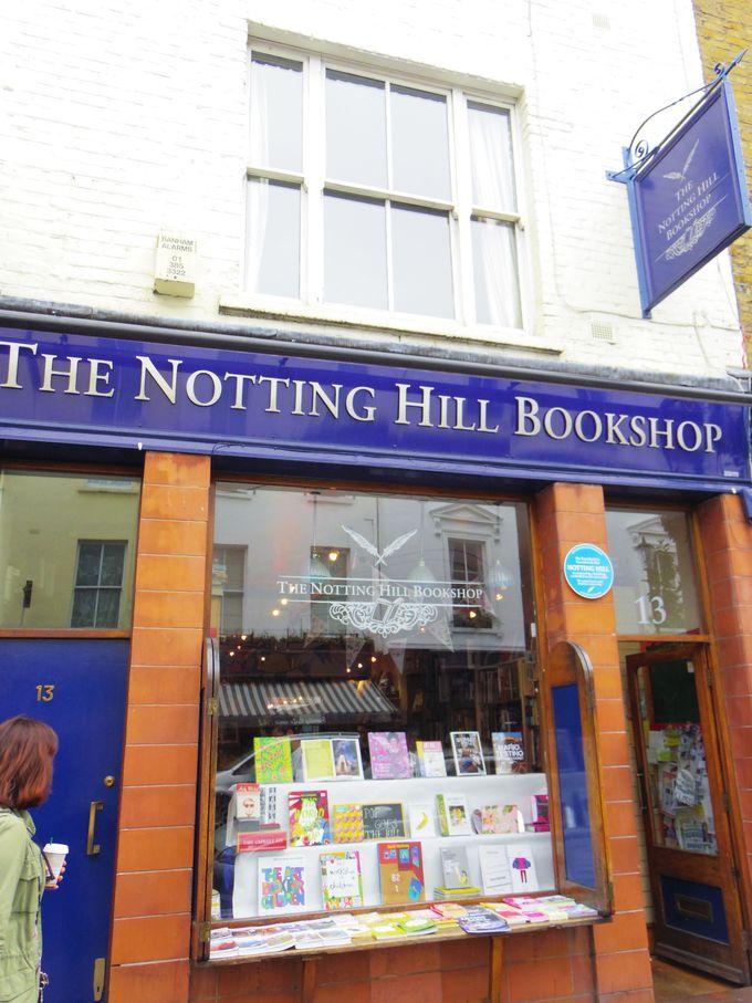 二人の出会ったブックショップへ!モデルとなった「THE NOTTING HILL BOOKSHOP」