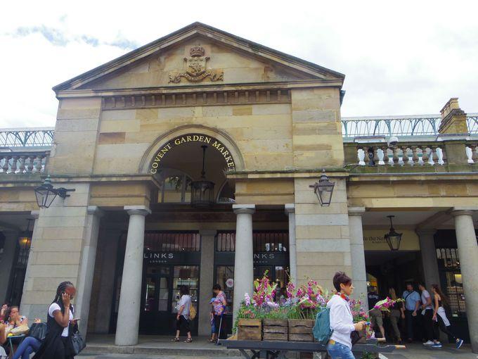 ロンドンのマーケットといえば外せない「コヴェントガーデンマーケット」