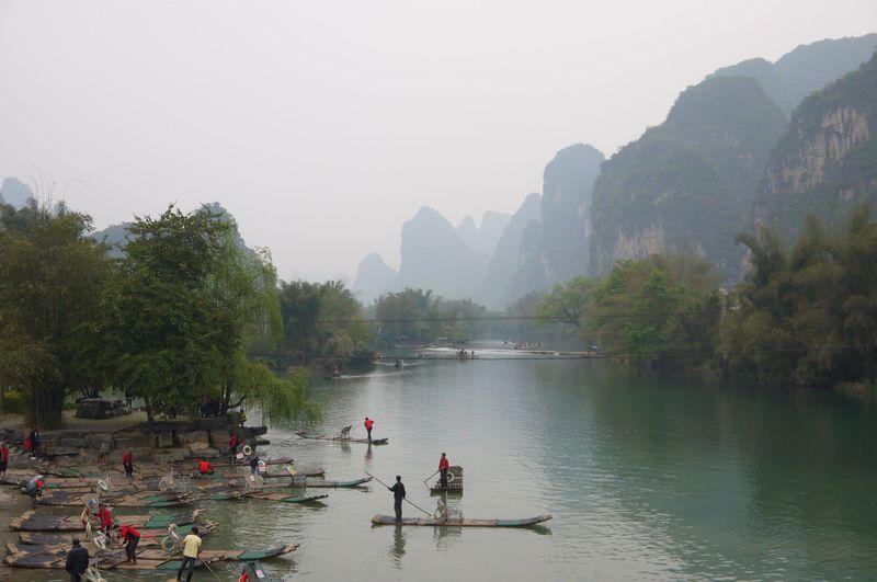 山水画の風景が広がる街!中国・陽朔で悠久のひとときを過ごす