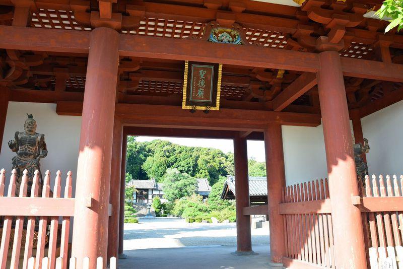 大阪の太子町にある叡福寺には「聖徳太子」が今も眠る