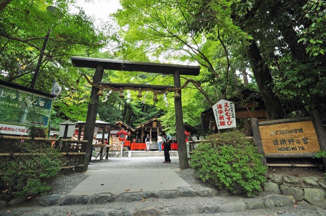 歴史豊かな野宮神社
