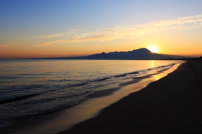 皆生に観光・宿泊した翌朝は必見!ちょっと早起き♪日の出を拝んで心身ともにデトックス&パワーチャージ!