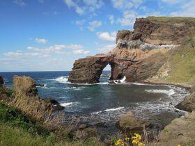 島根県にも離島があった!西ノ島の国賀海岸で見れる自然が作った壮大な景色|島根県|トラベルjp<たびねす>