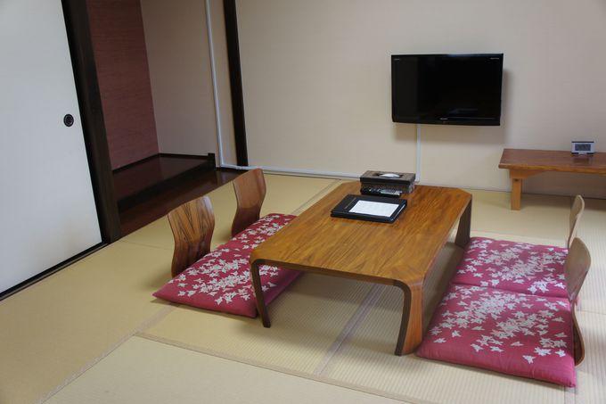 落ち着く和室でのんびり過ごすのはいかがですか