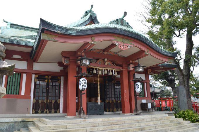 徳川家と縁の深い「品川神社」