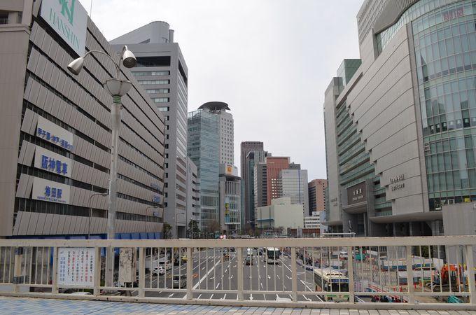 迷路のように複雑な「梅田」地下街