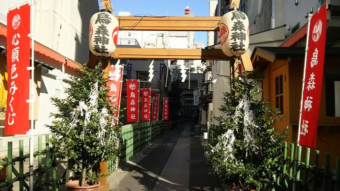 「烏森神社」で、仕事運の向上はもちろん恋愛成就も!