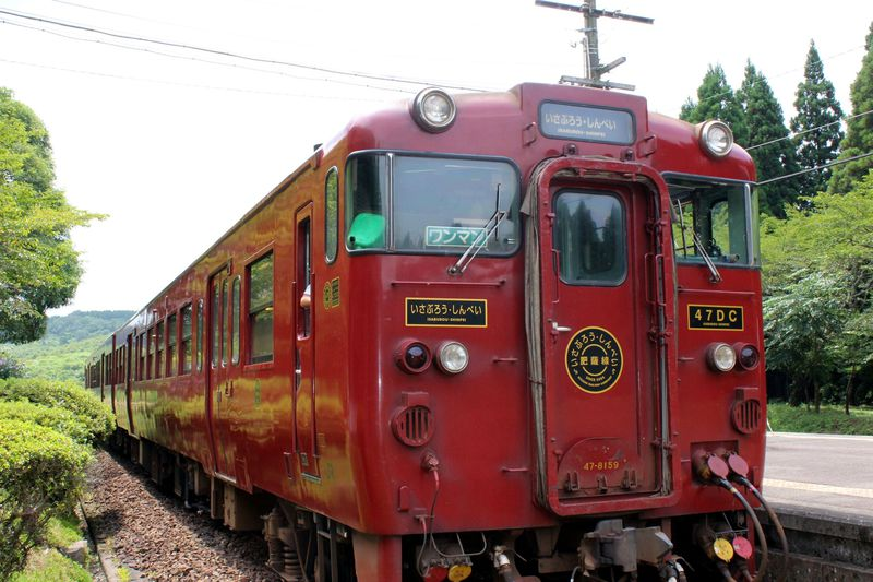 幸せ祈願も絶景も!日本三大車窓!列車「いさぶろう・しんぺい」で熊本から鹿児島へ