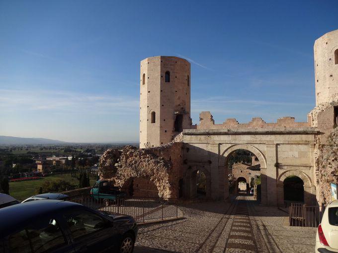 旧市街を守るように立つヴェネーレ門