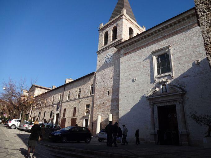 ピントゥリッキオの壁画が圧巻!サンタ・マリア・マッジョーレ教会