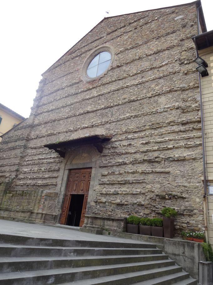 ルネサンス美術の傑作「聖十字架伝説」所蔵、サン・フランチェスコ教会
