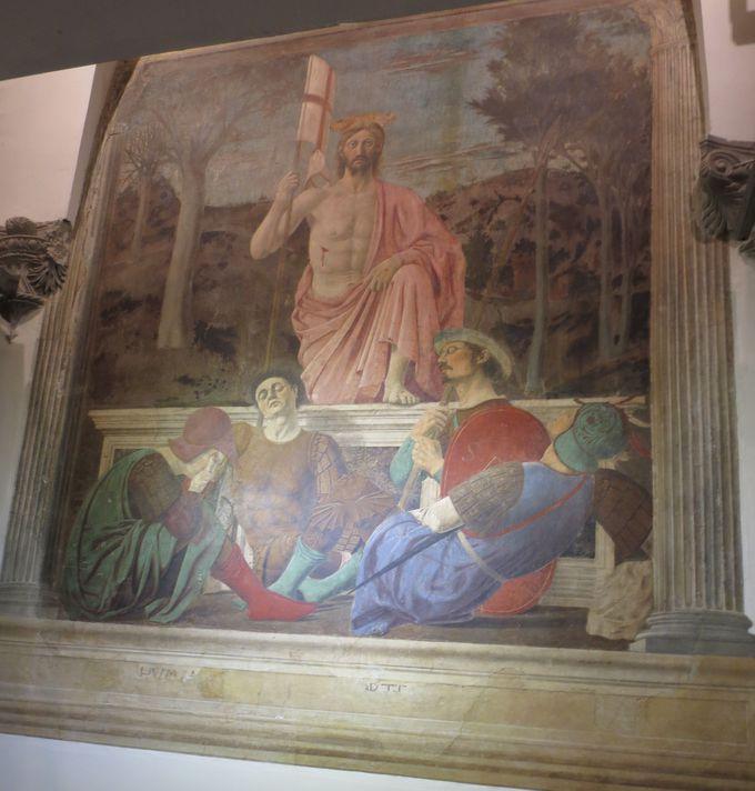 ピエロ生誕の地!「キリストの復活」所蔵、サンセポルクロ市立美術館