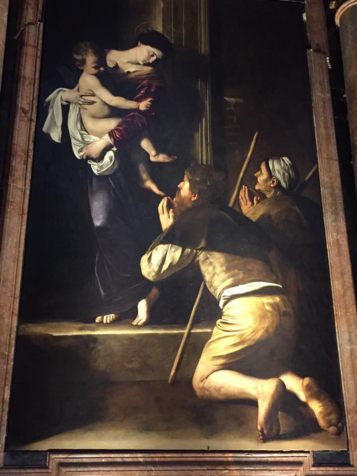 「ロレートの聖母」を所蔵!サンタゴスティーノ教会
