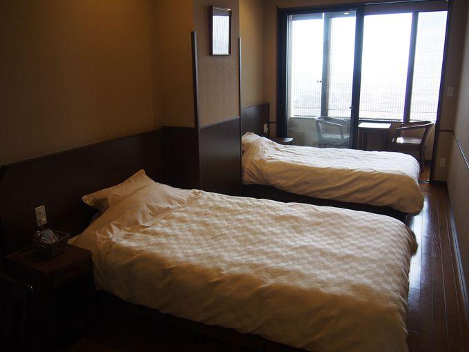 アットホームな雰囲気にホテルの要素を加えたツインルーム