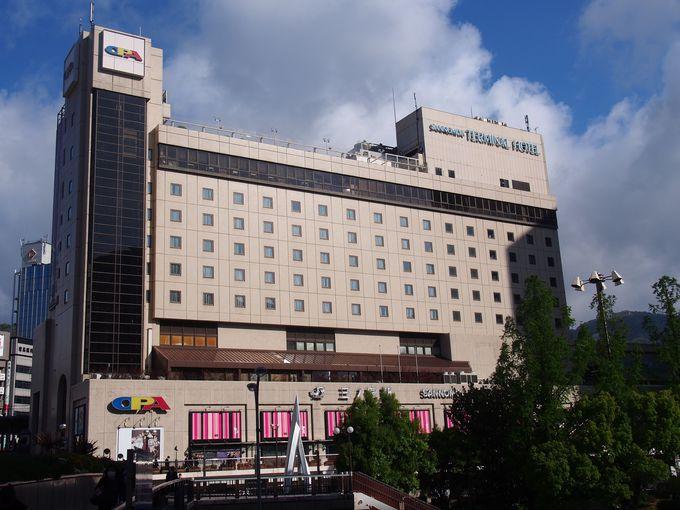 様々な使い方、遊び方ができるホテル