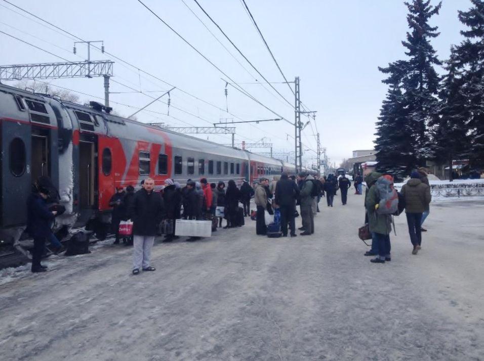 ムルマンスクへは列車の旅がおすすめ