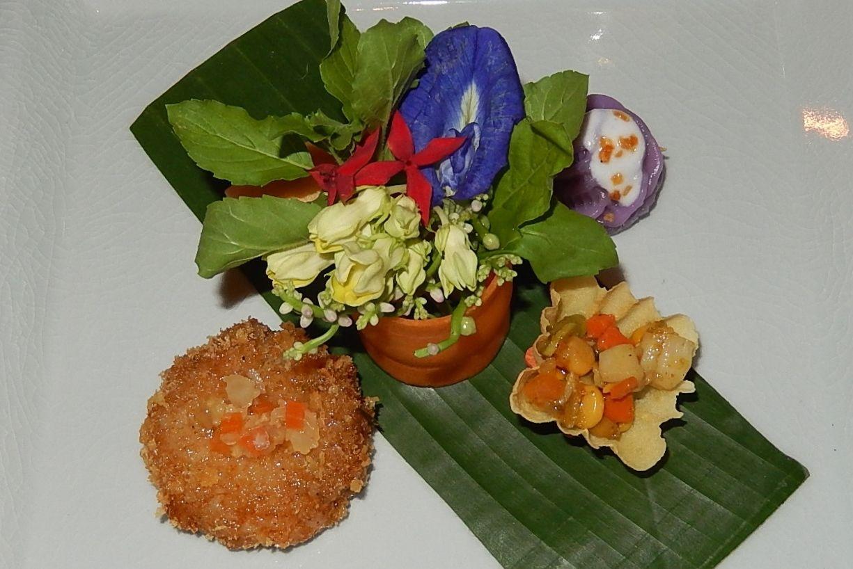 見た目も美しい「セラドン」のタイ料理