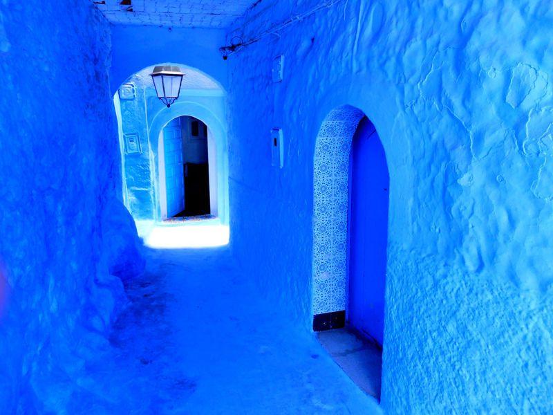 モロッコの青い街「シャウエン」にはもう一つの絶景があった