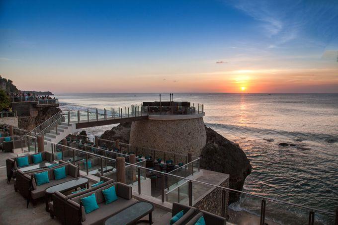 インド洋の絶景を巧みに利用した施設
