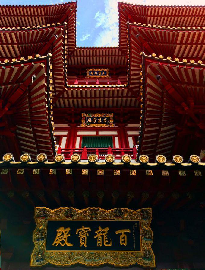 日本の技術が導入された仏閣の建築