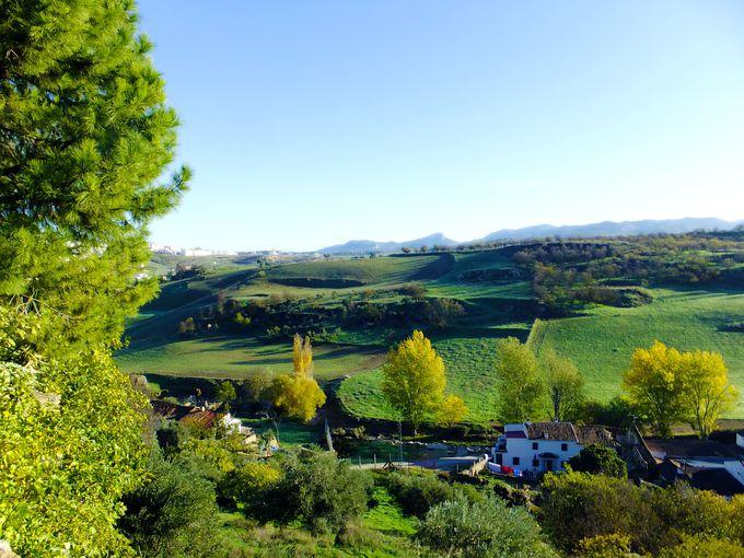 ロンダの自然と一体化する絶景ガーデン