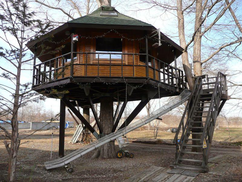 憧れのツリーハウスに宿泊!北海道十勝・鹿追町「三部牧場」が楽しすぎる!