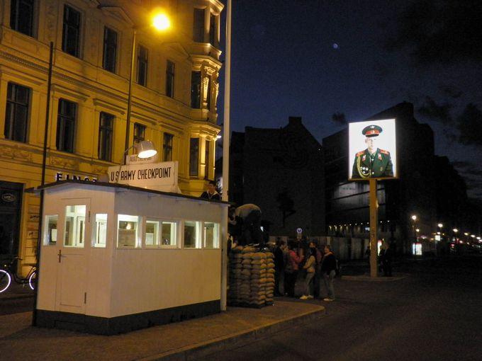 「チェックポイント・チャーリー」と「壁博物館」