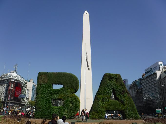 世界最大の道路!?「ブエノスアイレスのシャンゼリゼ通り」7月9日通り