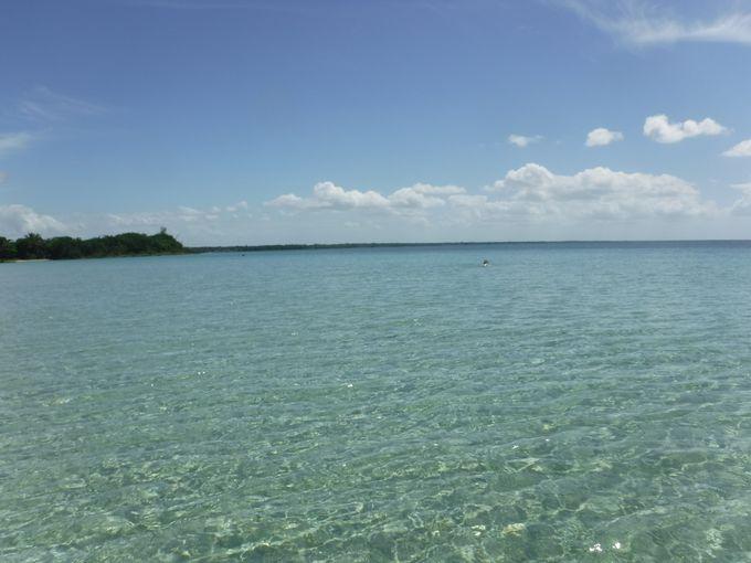 地元民のみぞ知るラルガ・ビーチ(Playa Larga)