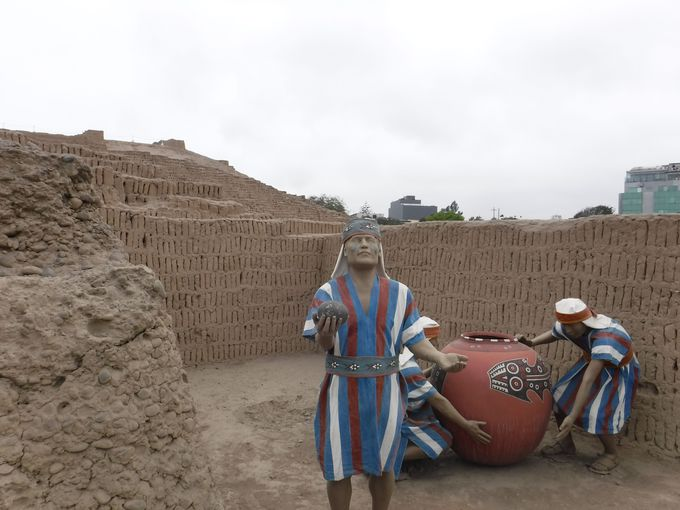 リマ文明の人々の暮らし