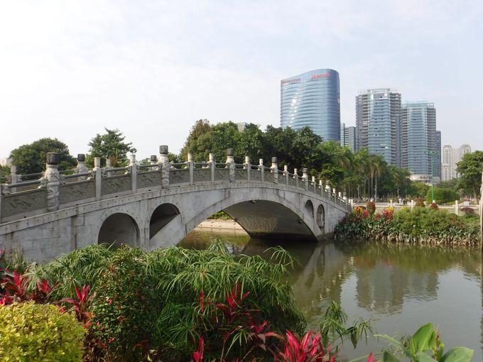 5つの巨大な橋「五行橋」