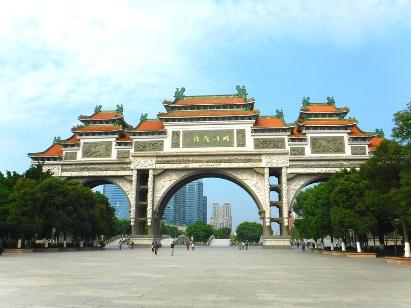 世界一裕福な街!?中国・順徳区の順峰山公園が規格外!