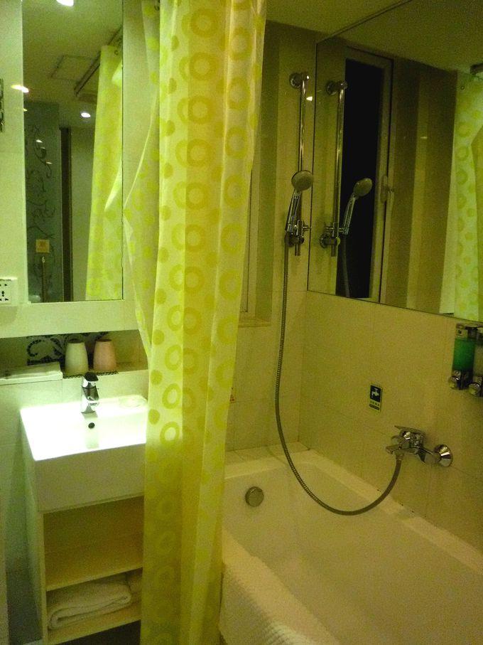 シンプルかつ清潔感のあるお部屋