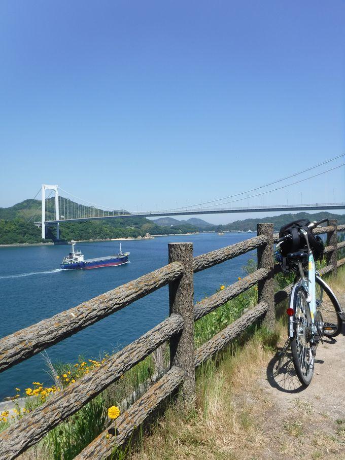 被写体は6つの橋!しまなみ海道サイクリング絶景写真スポット