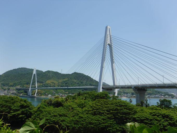 「生口橋」の絶景スポット!