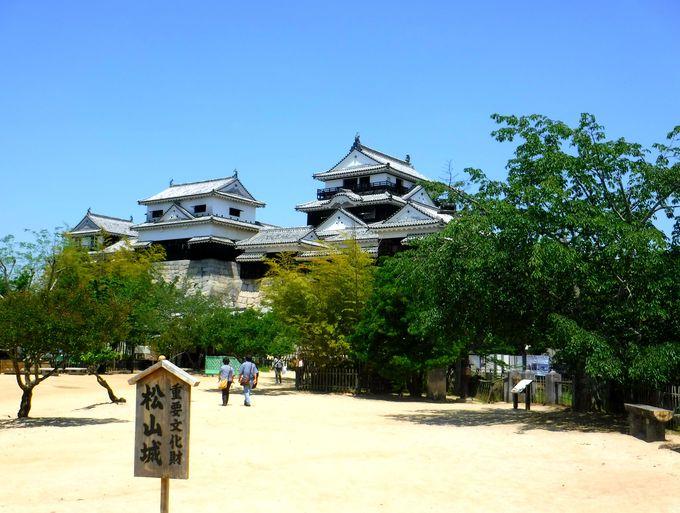 「現存12天主」の一つ。愛媛の名城と言えば松山城!