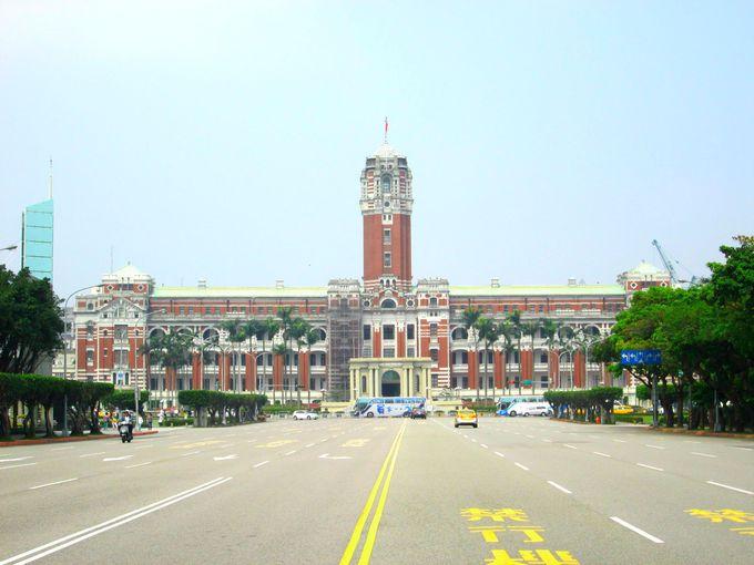 建築も見もの!台湾総督府は台湾政治の心臓!