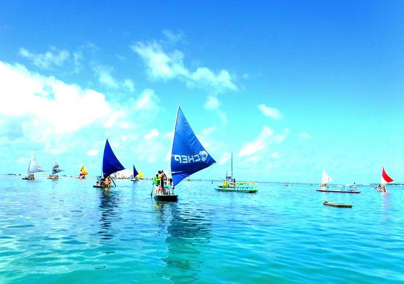南米トップクラスのビーチ!魚と一緒に泳げる海「ポルト・ジ・ガリーニャス」