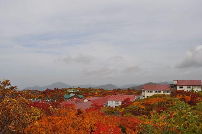 紅葉眺めて露天に蒸し湯!岩手県「須川高原温泉」で秋色の温泉三昧を!